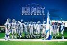 McCallum Knights Boys Varsity Football Fall 18-19 team photo.