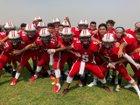 Academy of Careers & Exploration  Boys Varsity Football Fall 18-19 team photo.