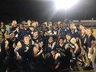 St. John Paul II Panthers Boys Varsity Football Fall 18-19 team photo.