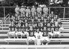 Burnt Hills-Ballston Lake Spartans Boys Varsity Football Fall 18-19 team photo.