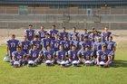 Hot Springs Tigers Boys Varsity Football Fall 18-19 team photo.