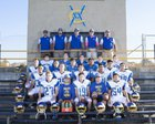 Valley Christian Academy Lions Boys Varsity Football Fall 18-19 team photo.