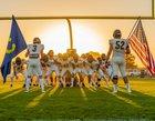 Ripon Christian Knights Boys Varsity Football Fall 18-19 team photo.