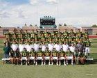 Mayfield Trojans Boys Varsity Football Fall 18-19 team photo.