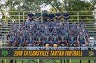 Taylorsville Tartars Boys Varsity Football Fall 18-19 team photo.