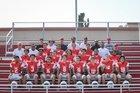 San Rafael Bulldogs Boys Varsity Football Fall 18-19 team photo.