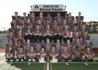 Mepham Pirates Boys Varsity Football Fall 18-19 team photo.