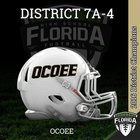 Ocoee Knights Boys Varsity Football Fall 18-19 team photo.