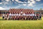 Harlandale Indians Boys Varsity Football Fall 18-19 team photo.