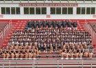 Franklin Wildcats Boys Varsity Football Fall 18-19 team photo.