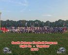 South Putnam Eagles Boys Varsity Football Fall 18-19 team photo.