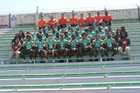 Houston Hurricanes Boys Varsity Football Fall 18-19 team photo.