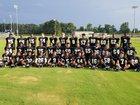 Clinton Dark Horses Boys Varsity Football Fall 18-19 team photo.