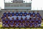 Paris Eagles Boys Varsity Football Fall 18-19 team photo.