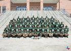 Fort Bend Hightower Hurricanes Boys Varsity Football Fall 18-19 team photo.