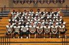 Green Hope Falcons Boys Varsity Football Fall 18-19 team photo.
