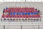 Las Cruces Bulldawgs Boys Varsity Football Fall 18-19 team photo.