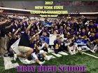 Troy Flying Horses Boys Varsity Football Fall 18-19 team photo.