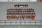 William Blount Governors Boys Varsity Football Fall 18-19 team photo.