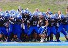 Minnetonka Skippers Boys Varsity Football Fall 18-19 team photo.