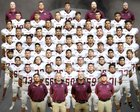 Belen Eagles Boys Varsity Football Fall 18-19 team photo.
