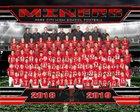 Park City Miners Boys Varsity Football Fall 18-19 team photo.