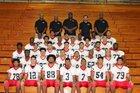 Leto Falcons Boys Varsity Football Fall 18-19 team photo.