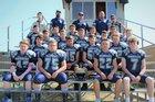 Nazarene Christian Academy Lions Boys Varsity Football Fall 18-19 team photo.
