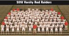 Decatur Red Raiders Boys Varsity Football Fall 18-19 team photo.
