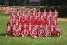 Truckee Wolverines Boys Varsity Football Fall 18-19 team photo.