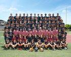 Downey Vikings Boys Varsity Football Fall 18-19 team photo.