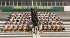 Central Lafourche Trojans Boys Varsity Football Fall 18-19 team photo.