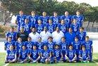 South San Francisco Warriors Boys Varsity Football Fall 18-19 team photo.