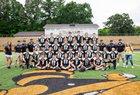 Hayesville Yellowjackets Boys Varsity Football Fall 18-19 team photo.