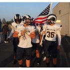 Millikan Rams Boys Varsity Football Fall 18-19 team photo.