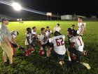 Mount Olive Christian  Boys Varsity Football Fall 18-19 team photo.