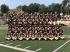St. Francis Golden Knights Boys Varsity Football Fall 18-19 team photo.