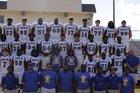 Edisto Cougars Boys Varsity Football Fall 18-19 team photo.