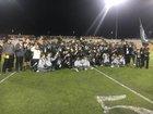 Lamar Silver Foxes Boys Varsity Football Fall 18-19 team photo.