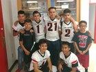 Lake Arthur Panthers Boys Varsity Football Fall 18-19 team photo.