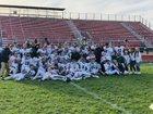 Bartlett Hawks Boys Varsity Football Fall 18-19 team photo.