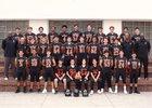 Beverly Hills Normans Boys Varsity Football Fall 18-19 team photo.