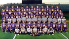 Burges Mustangs Boys Varsity Football Fall 18-19 team photo.