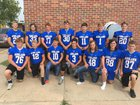 Ashland Blue Jays Boys Varsity Football Fall 18-19 team photo.