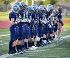 St. Michael the Archangel Guardians Boys Varsity Football Fall 18-19 team photo.