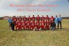 Wyoming Indian  Boys Varsity Football Fall 18-19 team photo.