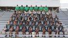 St. Petersburg Green Devils Boys Varsity Football Fall 18-19 team photo.