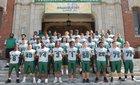 Trimble Tech Bulldogs Boys Varsity Football Fall 18-19 team photo.