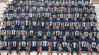 Fairmont Firebirds Boys Varsity Football Fall 18-19 team photo.
