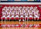 Pleasant Plains Cardinals Boys Varsity Football Fall 18-19 team photo.